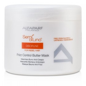 ALFAPARF MILANO SEMI DI LINO DISCIPLINE FOR REBEL HAIR FRIZZ CONTROL BUTTER MASK 500 ML
