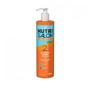 NUTRI SALON ARGAN OIL ANTI-RESIDUE SHAMPOO (2) 500ML