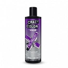 CRAZY COLOR SHAMPOO ULTRAVIOLET NO YELLOW 250ML
