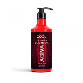 AGIVA SHAVING GEL 500 ML COOL
