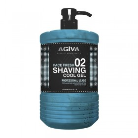 AGIVA SHAVING GEL 1000 ML COOL