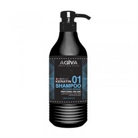 AGIVA HAIR SHAMPOO 1000 ML KERATIN COMPLEX