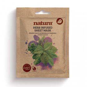 NATURA HERB INFUSED SHEET MASK 22ML