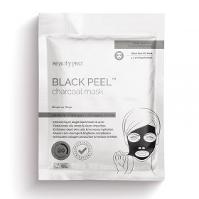 BEAUTY PRO BLACK PEEL OFF MASK 3X7G