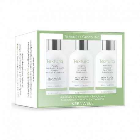 PACK TEXTURA BODY THERAPY - TE VERDE