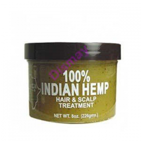 100% INDIAN HEMP HAIR&SCALP TREATMENT 226GR
