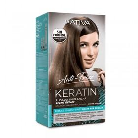 KATIVA KERATIN ANTI-FRIZZ ALISADO SIN PLANCHA XPERT REPAIR
