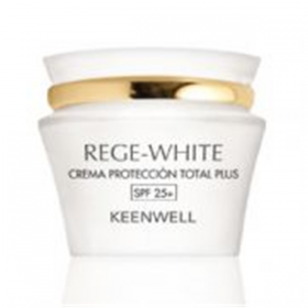 REGE-WHITE CREMA PROTECCION TOTAL PLUS SPF 25+ 50 ML