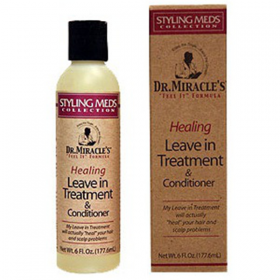 DR.MIRACLES HEALING LEAVE IN  TREAT. & COND. 177ML