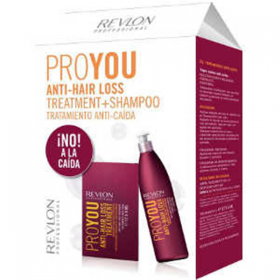 PACK PROYOU ANTI-HAIR LOSS - TRATAMIENTANTI-CAIDA 12*6ML+ SHAMPOO ANTI-CAIDA 350ML