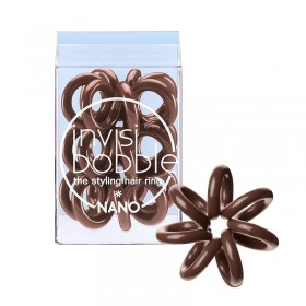 COLETERO INVISIBOBBLE NANO PRETZEL BROWN